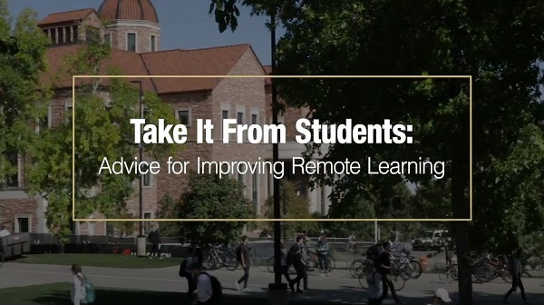 Tips from Students: Advice for Improving Remote Learning