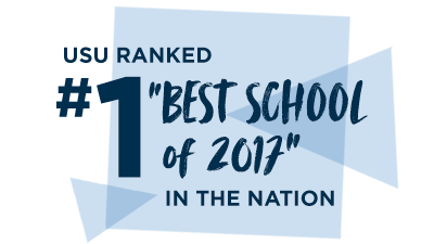 "USU Ranked #1 ""Best School of 2017"" in the Nation"